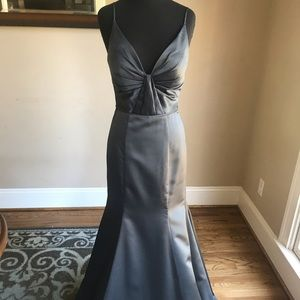 Mori Lee Style 21569 Size 6 Color Charcoal